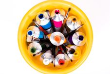 Free Tube Of Paint Royalty Free Stock Images - 10093389