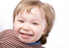 Free Happy Baby Girl Royalty Free Stock Photo - 10093555