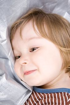 Free Happy Baby Girl Royalty Free Stock Photo - 10093575