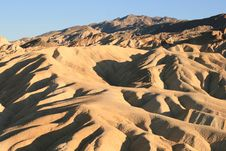 Free Zabriskie Point, Death Valley, California Stock Photography - 10093962
