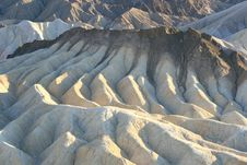 Free Zabriskie Point, Death Valley, California Stock Photography - 10093982