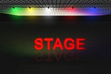 Free Stage Scene Stock Images - 10094664