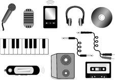Free Audio Equipment Illustration Stock Photo - 10094870