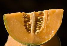 Half A Melon Stock Photography