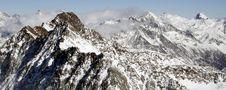 Free Mountain Panorama Royalty Free Stock Photo - 10095135