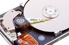 Free Close-up Inside View Of  Hard Disk Stock Images - 10096534