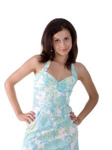 Free Cute  Young Girl Stock Photos - 10097043