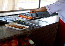 Free Kebab Cooking Stock Photo - 10097780