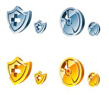 Free Vector Web Icons Royalty Free Stock Photography - 10098237