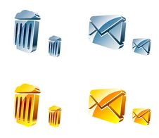Free Vector Web Icons Royalty Free Stock Photos - 10098268