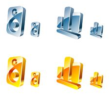 Vector Web Icons Royalty Free Stock Images