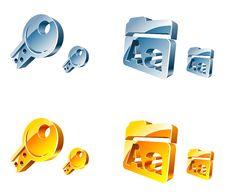 Free Vector Web Icons Stock Photos - 10098293