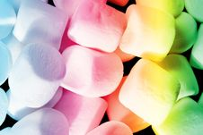 Free Colorful Marshmellow Candy Royalty Free Stock Photography - 10099057