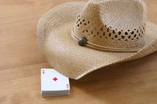 Ready To Play Cards Stock Photography