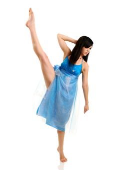 Free Woman Dancing Royalty Free Stock Photography - 10099367