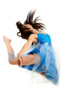 Free Woman Dancing Stock Photos - 10099433