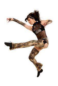 Free Woman Dancing Stock Photography - 10099512
