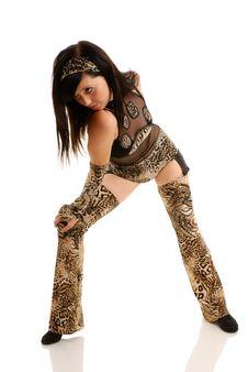 Free Woman Dancing Stock Photos - 10099573