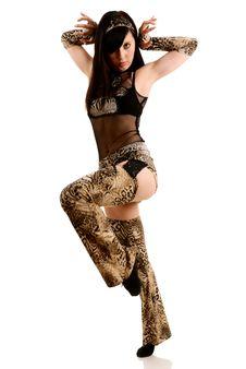 Free Woman Dancing Stock Image - 10099601
