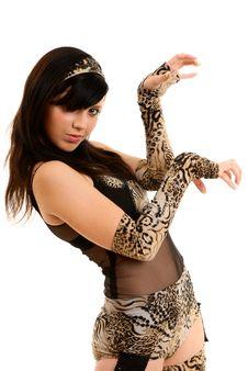 Free Woman Dancing Stock Photos - 10099653