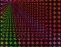 Free Rainbow Stars Infinity Background Wallpaper Royalty Free Stock Images - 1010529