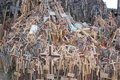 Free The Hill Of Crosses Stock Photography - 1015662