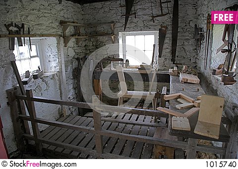 Free Old Workshop Stock Photo - 1015740