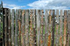 Free Pine Fence Royalty Free Stock Images - 1010039