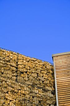 Free Stone Wall And Wood Royalty Free Stock Photo - 1010065