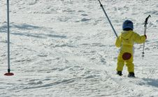 Free Child Skier Royalty Free Stock Photography - 1010137