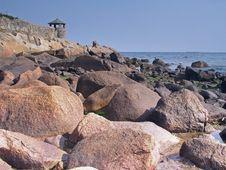 Free Shoreline And Rocks Stock Photo - 1010230