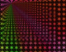 Rainbow Stars Infinity Background Wallpaper Royalty Free Stock Images