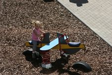 Free At The Children S Playground Royalty Free Stock Images - 1010559