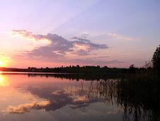 Free SunSet - Like Pankovskoe Royalty Free Stock Photos - 1010658