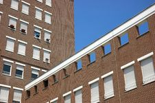 Free Two Brick Building Royalty Free Stock Images - 1012059