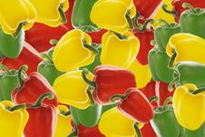 Free Pepper Background Royalty Free Stock Image - 1012146