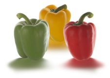 Free Peppers In Different Colors Stock Photos - 1012173