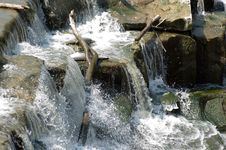 Free Waterfall - Fast Shutter Speed Stock Photos - 1012203