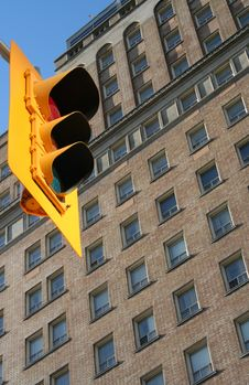 Free Traffic Light Royalty Free Stock Photography - 1012437
