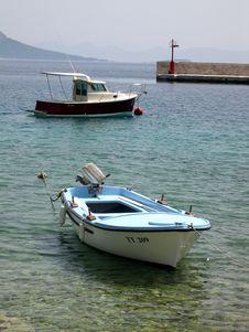 Free Boats At Anchor Stock Image - 1012561