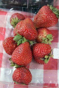 Free Fresh Strawberries Royalty Free Stock Photography - 1013967