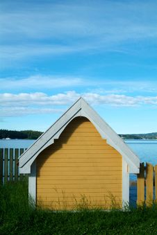 Free Small House By The Sea Stock Photo - 1014290