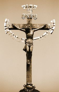 Free 17th Century Crucifixion Stock Photography - 1015502