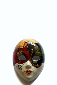 Free Venetian Face Mask Royalty Free Stock Photo - 1015645