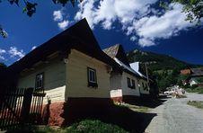 Free Skanzen, Vlkolinec Stock Photography - 1015652