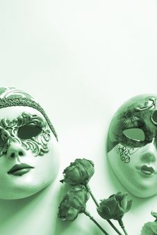Free Venetian Face Mask Royalty Free Stock Photography - 1015847