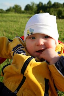 Free Baby In The Park Stock Photography - 1015862