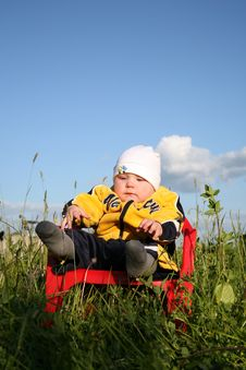 Free Baby In The Park Stock Photo - 1015890