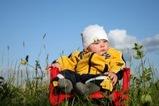 Free Baby In The Park Stock Photography - 1015922