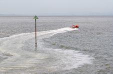 Free Lifeboat Crew On Exercise Stock Photo - 1016280